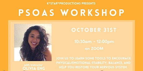Virtual Psoas Workshop with Olivia Eng tickets