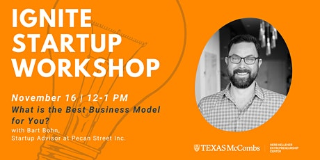 Ignite Startup Workshop: Finding the Right Business Models tickets