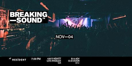 Breaking Sound LA feat. Alex Bloom, Rudy Touzet, Casey Baer, + more tickets