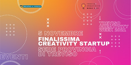 Finalissima Premio Creativity Startup _quarta tappa TCW2021 biglietti