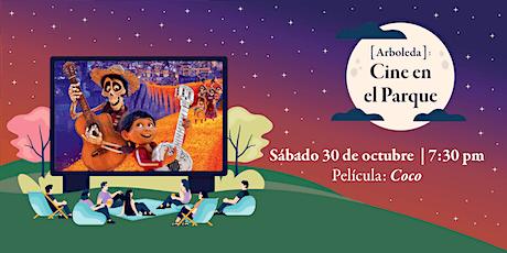 Cine en el Parque: Coco boletos