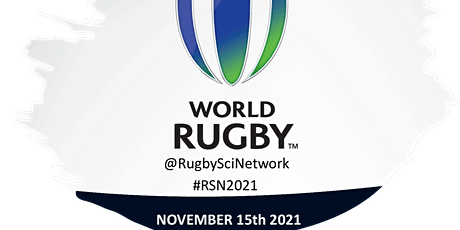 Rugby Science Network RSN live 2021 - In person attendance tickets