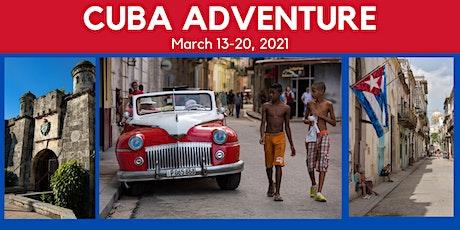 Cuba Adventure Info Night tickets