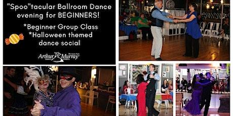 Halloween Ballroom Dancing class & social party tickets
