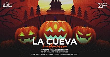 Halloween Latin Party at La Cueva Hollywood tickets