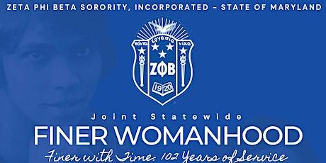 2022 Finer Womanhood Luncheon tickets