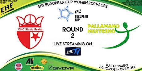 EHF EUROPEAN CUP, ROUND 2: DHC SLAVIA PRAHA vs ALÌ-BEST ESPRESSO MESTRINO biglietti