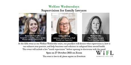 Welfare Wednesday: what can supervision add to your practice? tickets