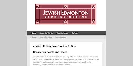Jewish Edmonton Stories Online: Community Launch tickets
