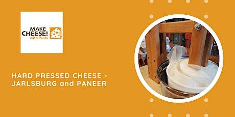 Hard pressed cheese:  Jarlsburg and Paneer tickets