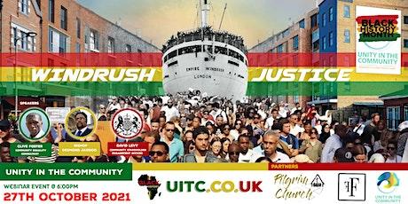BHM: Windrush Justice tickets