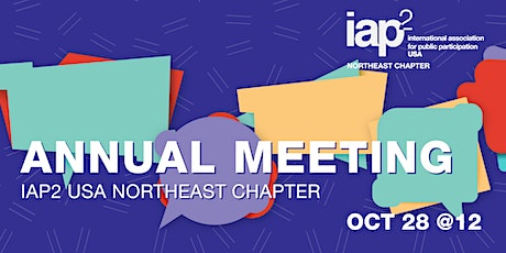IAP2 Northeast USA Chapter Annual Meeting tickets