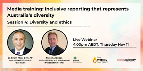 Media Training: Diversity and ethics tickets