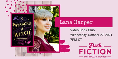Video Book Club with Author Lana Harper tickets