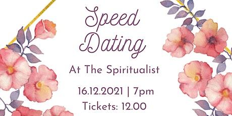 Speed Dating - The Spiritualist - Lichfield tickets