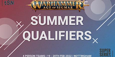 Super Series Summer - Qualifier tickets
