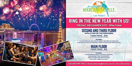 Margaritaville New Year's Eve Party tickets