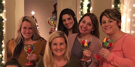 Wine Glass Painting Class held at Landon Winery Wylie - 12/9 tickets