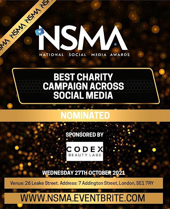 National Social Media Awards London image