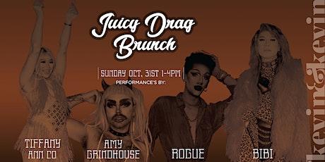 JUICY DRAG BRUNCH Halloween Edition tickets