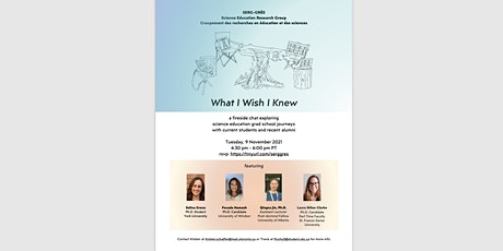 What I Wish I Knew - a fireside chat tickets