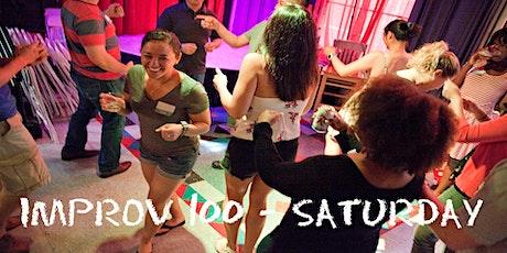 IMPROV 100 Saturdays-Intro to Improv - Build Confidence WINTER tickets