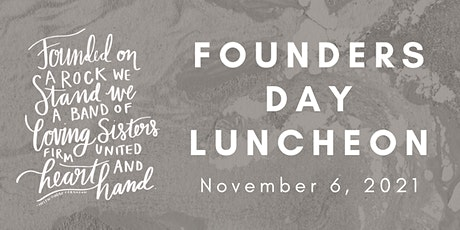 2021 Founders Day Luncheon tickets