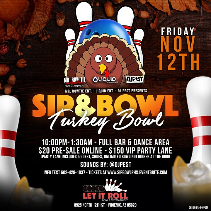 Sip & Bowl - Turkey Bowl  Edition image