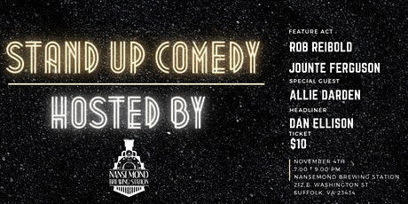 Laughs and Brews - Stand Up Comedy Night at the Station tickets