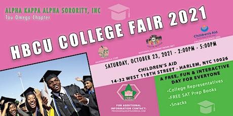 HBCU College Fair 2021 entradas