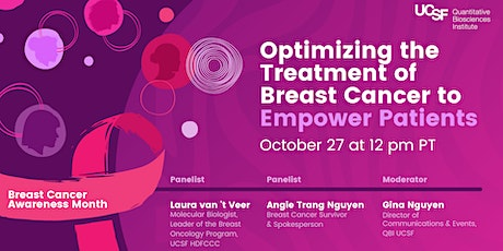 Optimizing the Treatment of Breast Cancer to Empower Patients tickets