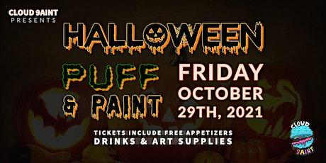 Halloween Puff & Paint tickets