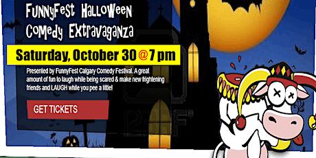 Halloween Comedy Extravaganza - FUNNYFEST YYC - Saturday, October 30 @ 7 pm tickets