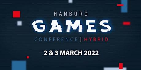Hamburg Games Conference HYBRID 2022 Tickets