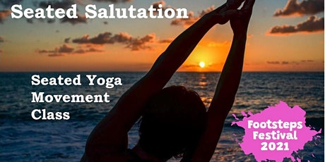 Seated Salutation - seated yoga class with Physiotherapist tickets