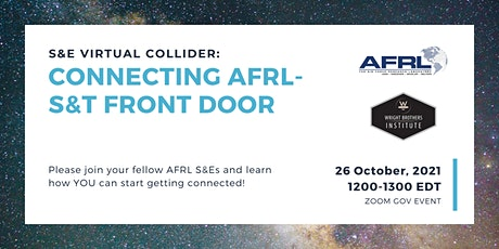 S&E Virtual Collider: Connecting AFRL- S&T Front Door tickets