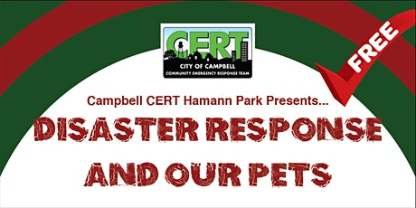 Disaster Response and Our Pets tickets
