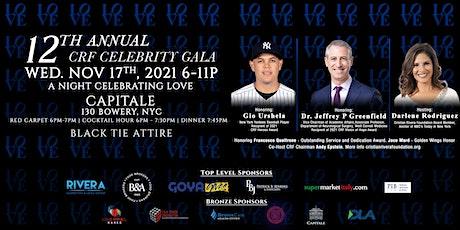 12th Annual Cristian Rivera Foundation  Celebrity Gala tickets