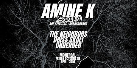 AMINE K Halloween tickets