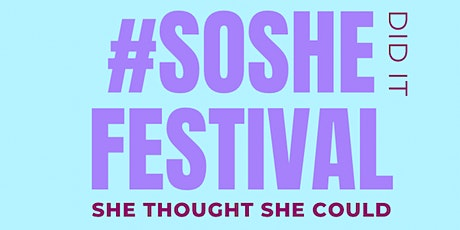 #SoShe Festival 2021 tickets