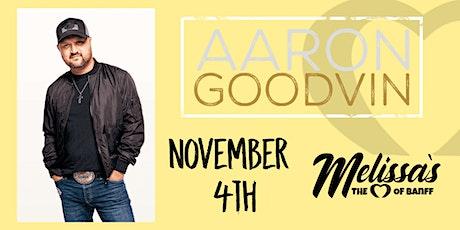 Aaron Goodvin tickets