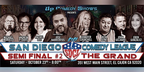 San Diego Comedy League SEMI FINAL Show #1 at JJ's OB, Wed. 10/20 , 8pm tickets
