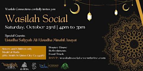 Wasilah Social tickets