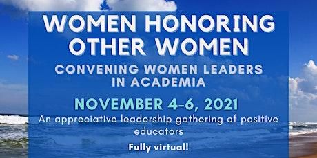 Women Honoring Other Women entradas
