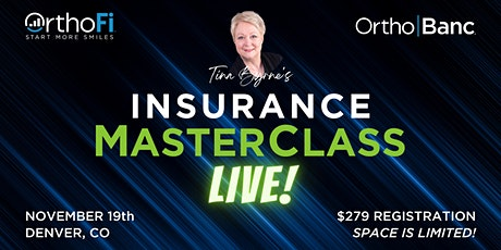 Orthodontic Insurance MasterClass: What you need to know for 2022 tickets