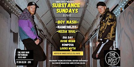 Substance Sundays tickets