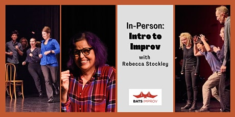 In-Person: Intro to Improv with Rebecca Stockley tickets