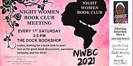 Night Women Book Club meeting tickets
