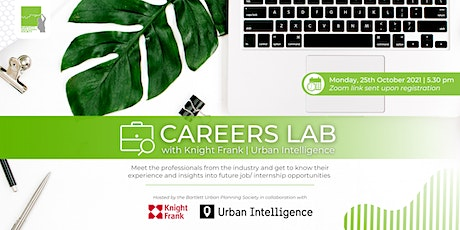 BUPS Careers Lab 1 (THIS EVENT HAS BEEN POSTPONED  TO MONDAY 1ST NOVEMBER) tickets