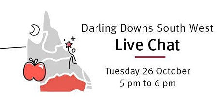 Teach Queensland Live Chat: Teach in Darling Downs South West tickets